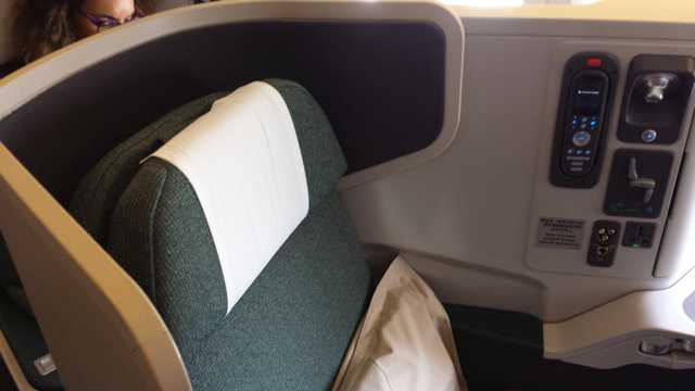 CX Business Class Seat 2