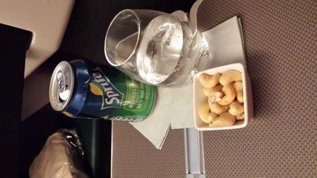 CX Business Class Food 3