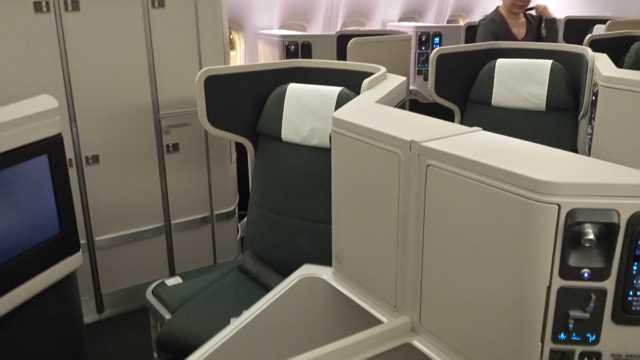 CX Business Class Seat 5