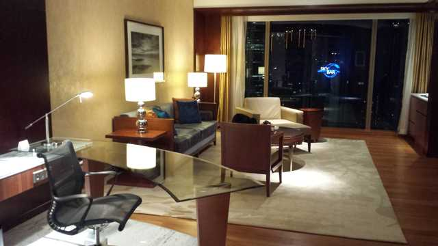 Grand Hyatt KL Living Room