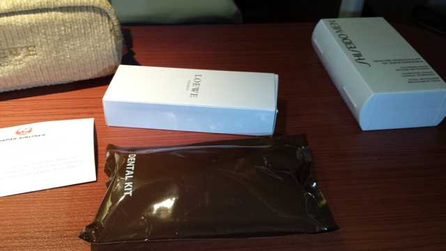 JAL First Class Amenity Kit 7