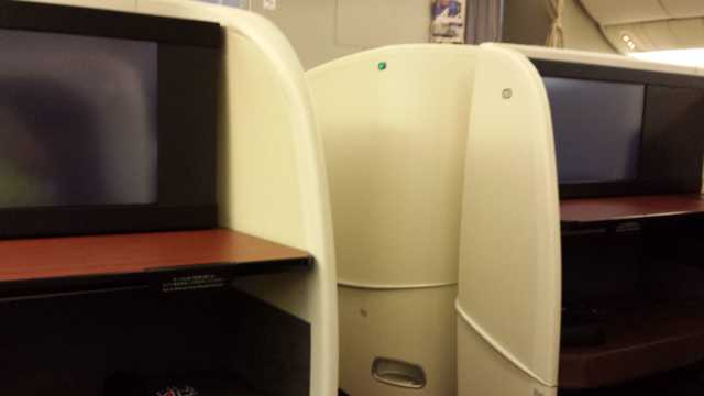 JAL First Class Cabin 1