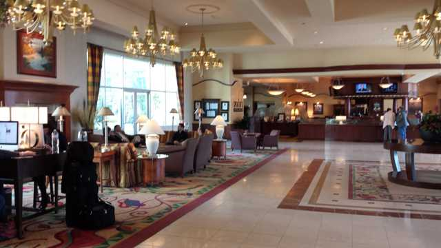 Seattle Hilton Airport Lobby 1