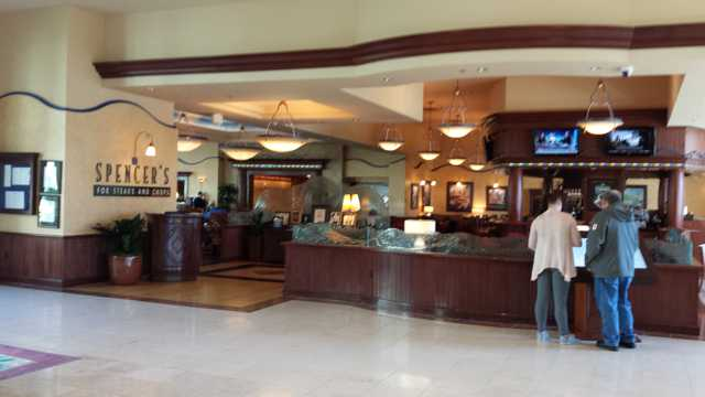 Seattle Hilton Airport Lobby 3