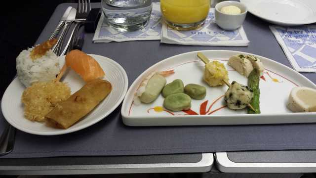 United First Class Food 4