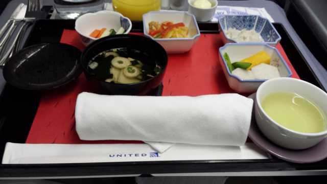 United First Class Food 6