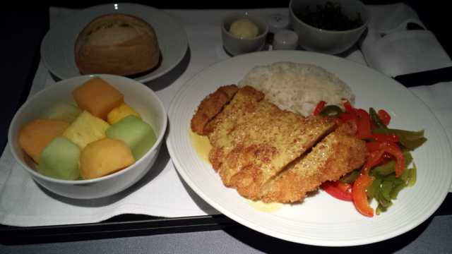 United First Class Food 8